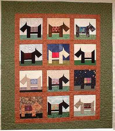 Free Scottie Dog Quilt Block Pattern Awesome Dog Quilt Patterns