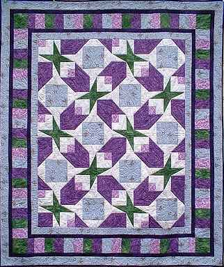 Easy Quilt Pattern For Beginning Quilters - Around the Twist