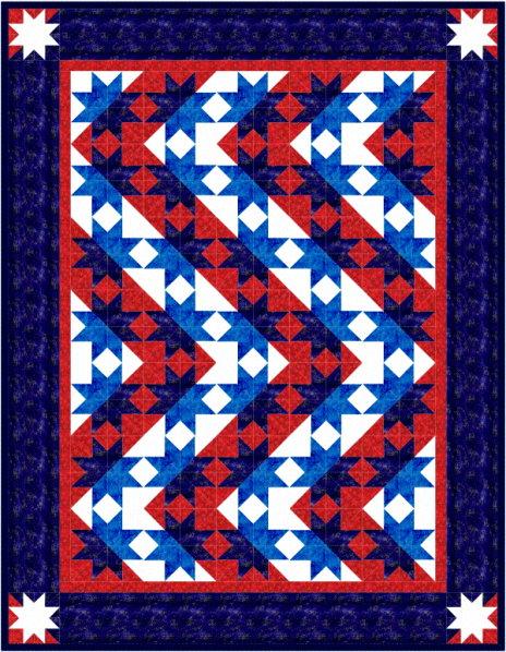 QDNW Stars & Stripes forever quilt pattern : stars and stripes quilt - Adamdwight.com