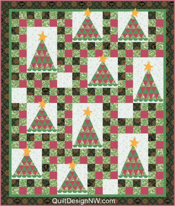 Abbey Christmas Quilt Pattern
